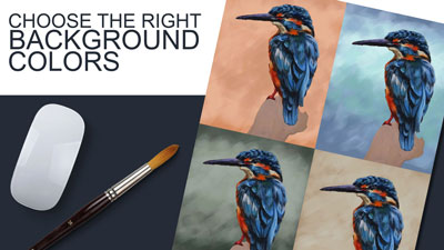 How to choose the right background color in your paintings