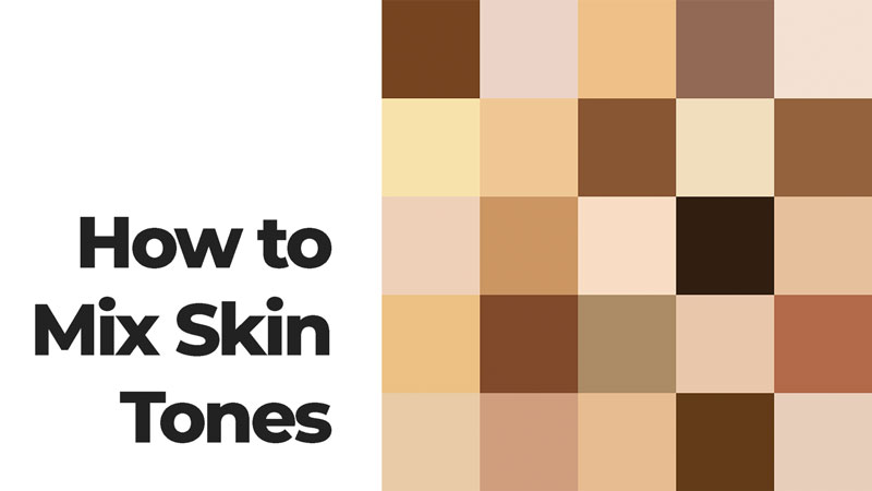 How to mix skin tones