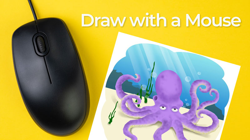 Draw with the mouse