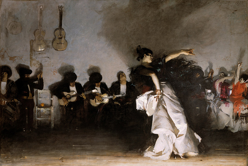 Sargent painting that tells a story