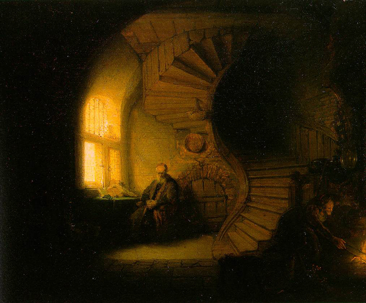 Baroque painting example - Rembrandt