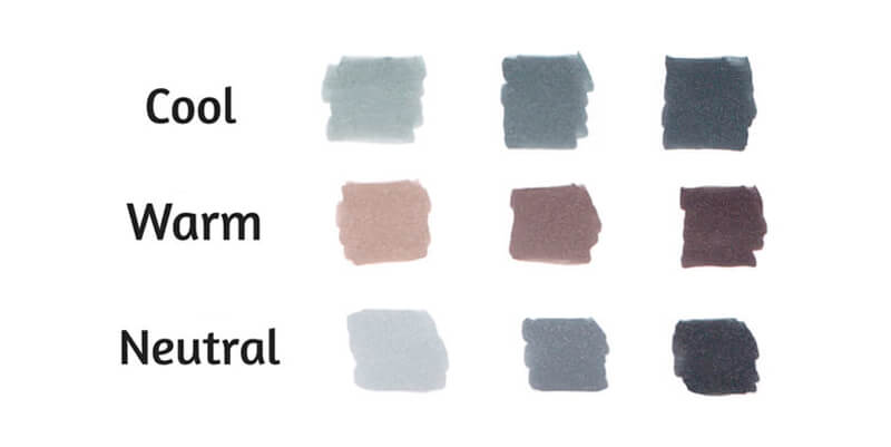 Gray marker comparison