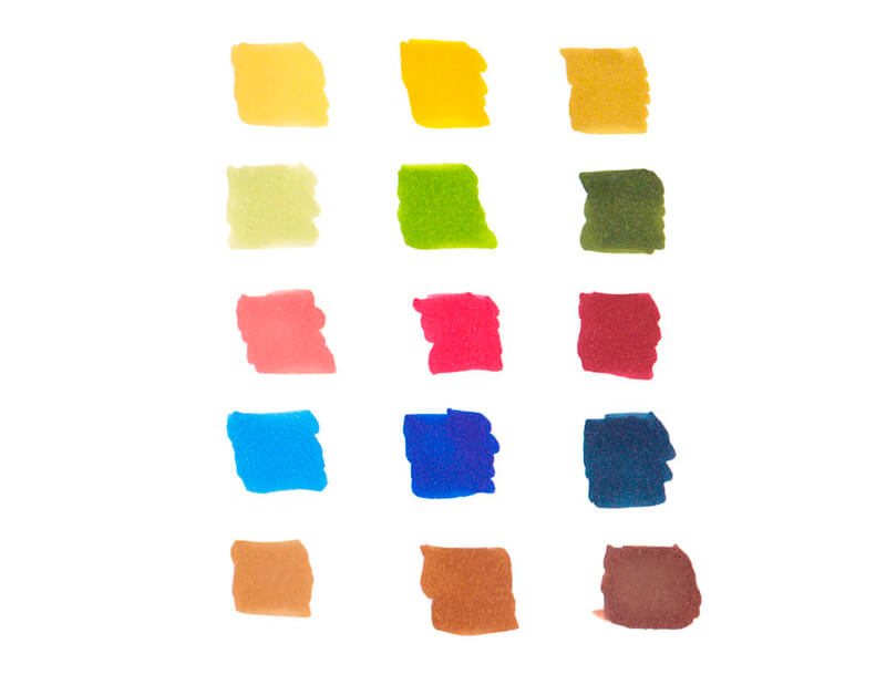 Different values of marker colors