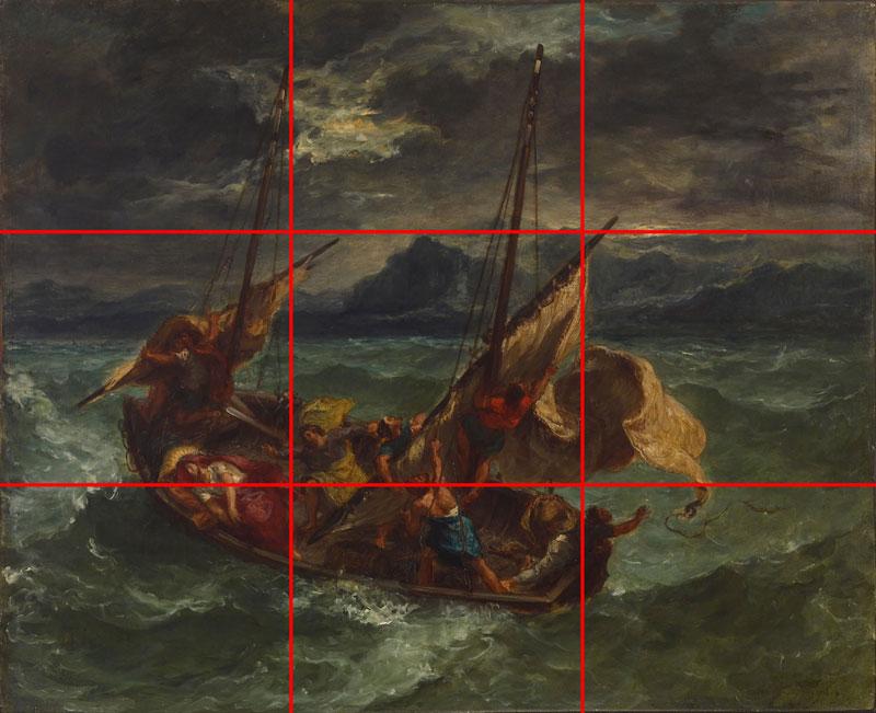 Delacroix landscape example