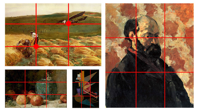 The Rule of Thirds in Art