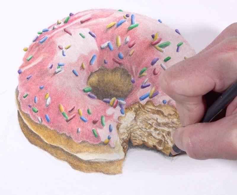 Adding cast shadow under the doughnut
