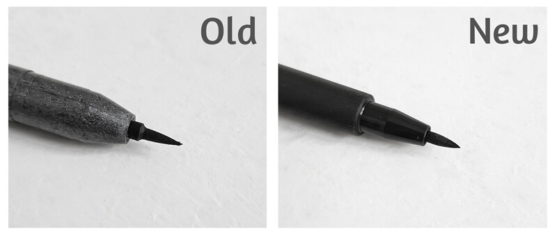 Ink brush pens compared