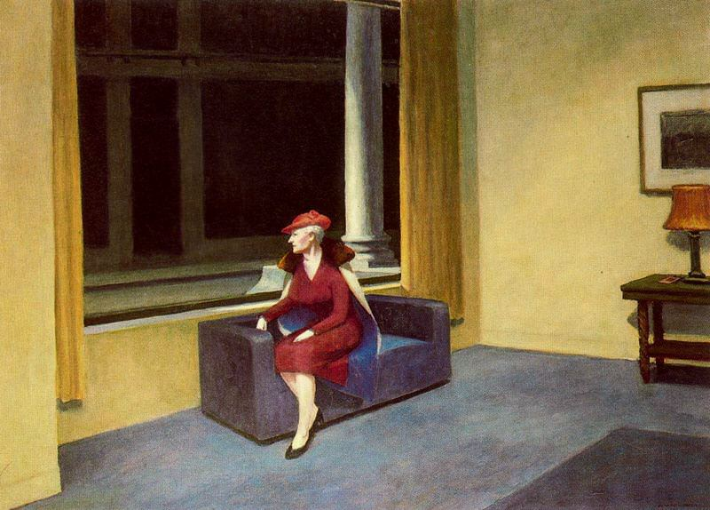 Edward Hopper - Hotel Window