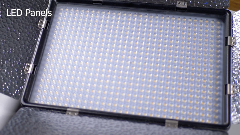 LED Panel lights for studio