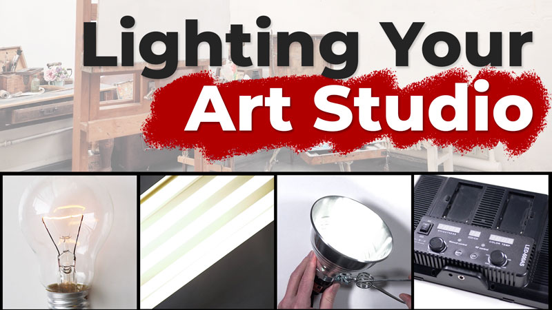Lighting Your Art Studio