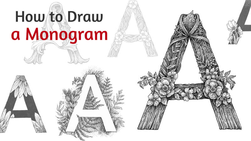 How to Draw Letters with Pen and Ink