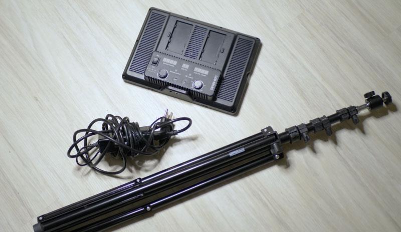 Storage for LED panels