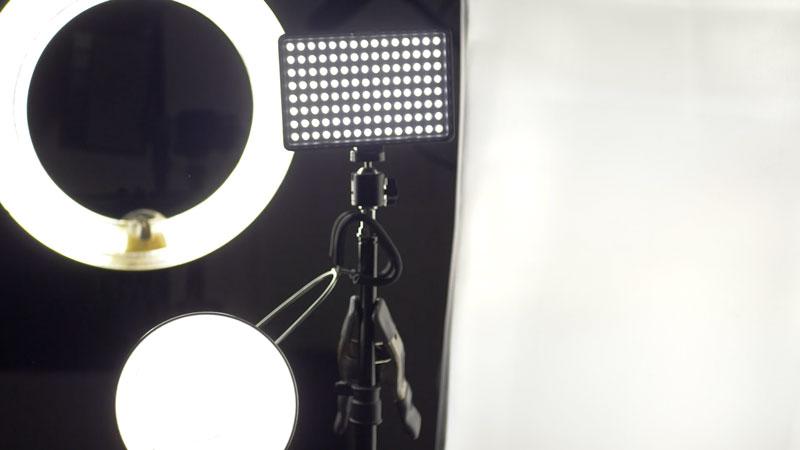 Art studio lights