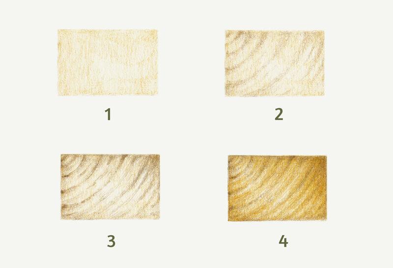 Flat texture of wood grain