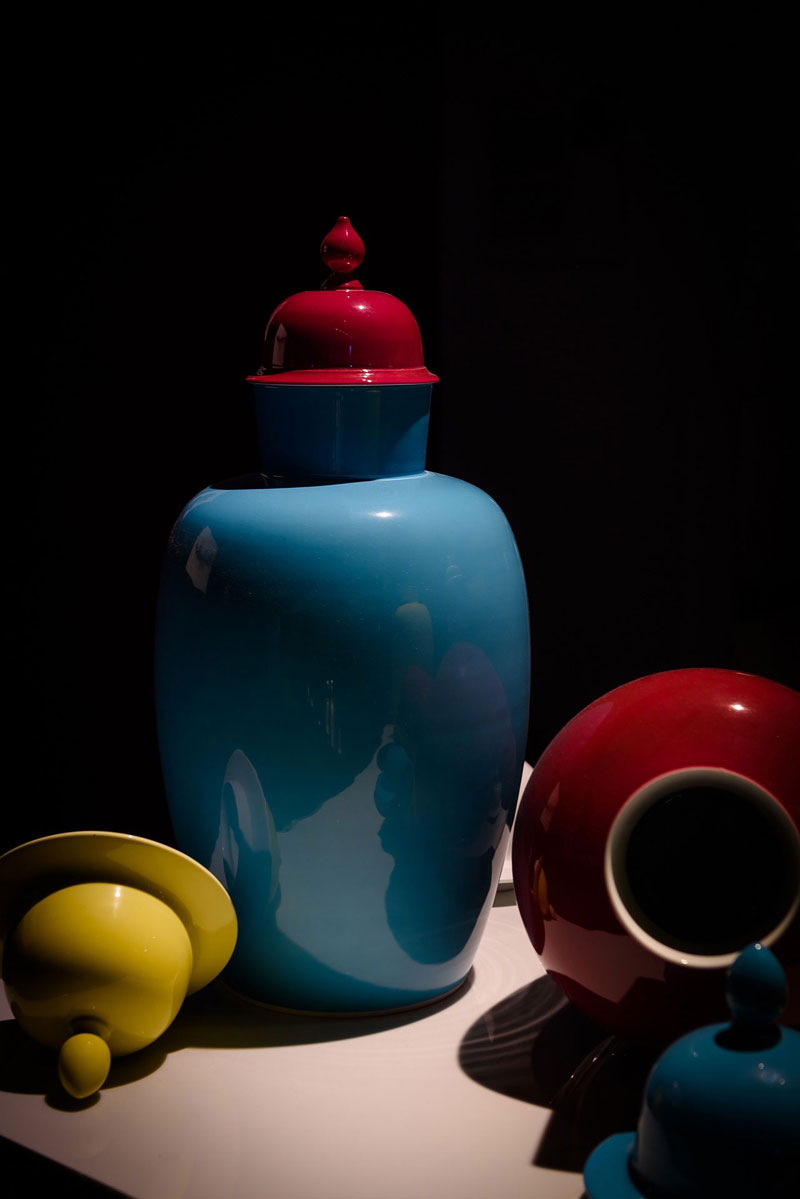 Primary color scheme still life reference
