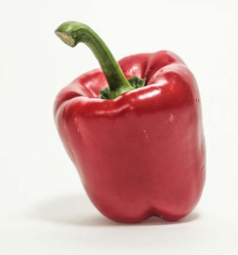 Red Bell Pepper Photo Reference