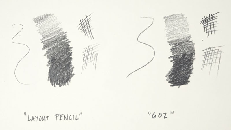 Generals Layout Pencil vs. Blackwing 602