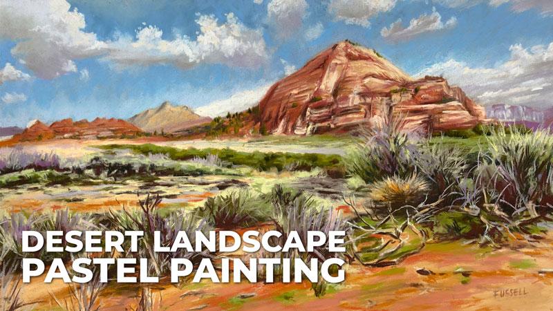 Desert Landscape Painting Tutorial