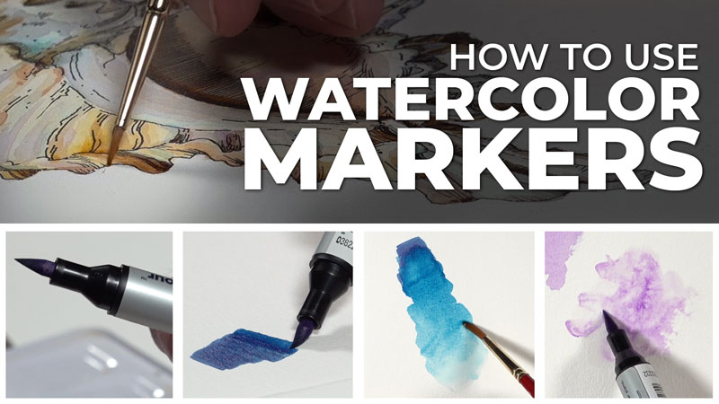 How to Use Watercolor Markers