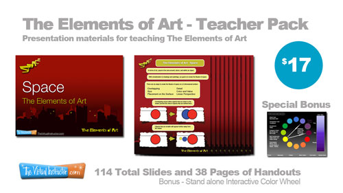 Elelments of art Teacher Pack