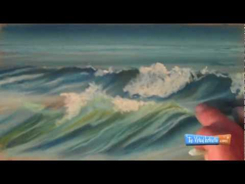 How to draw waves a demonstration with soft pastels ccuart Gallery