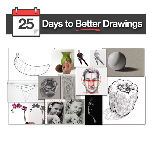 25 Days to Better Drawings Course