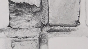 25 Days to Better Drawings - Texture Study #2