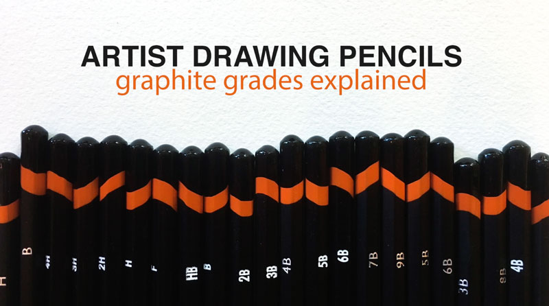 Drawing pencils explained