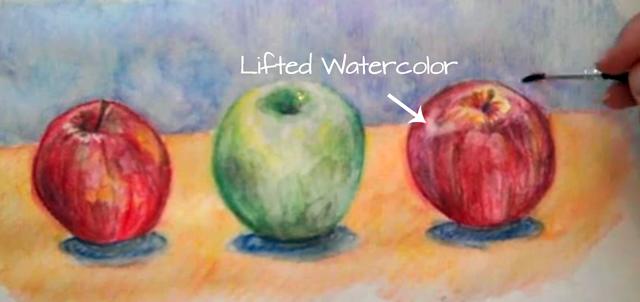 Erase Watercolor Pencils
