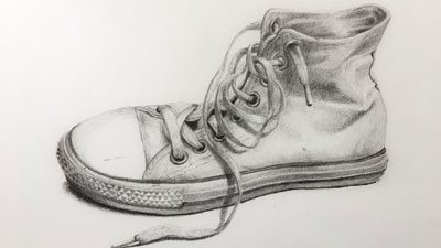 Pencil drawing texture study 2