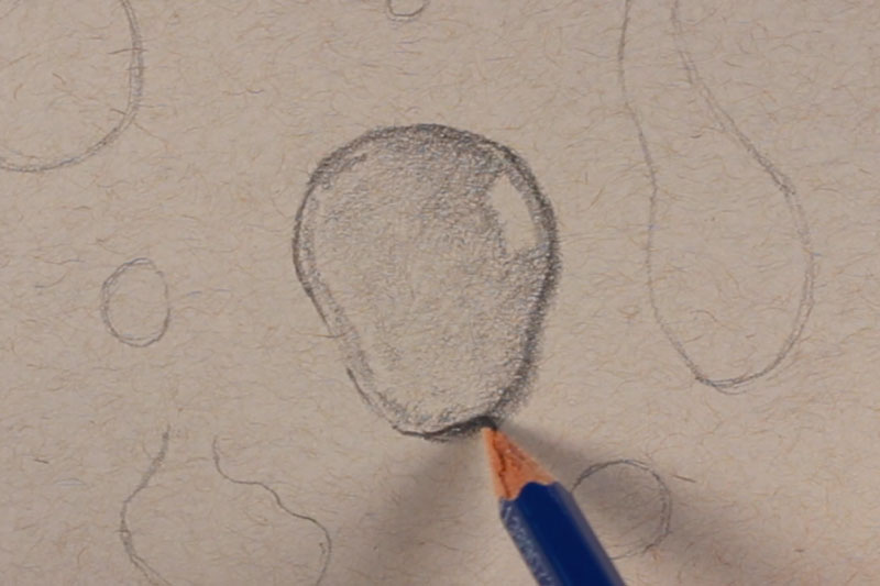 How To Draw Water Droplets