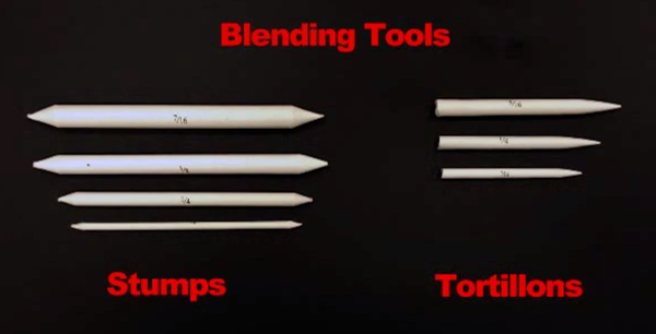 Blending Stumps for Drawing