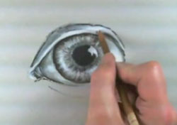 Draw-eyes-with-charcoal-step-6-areas around the eye