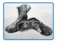 Charcoal Still Life Lesson Series