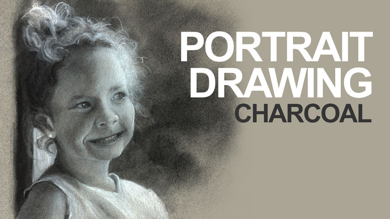 Sketching with charcoal