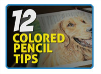 Colored Pencil Drawing Tips