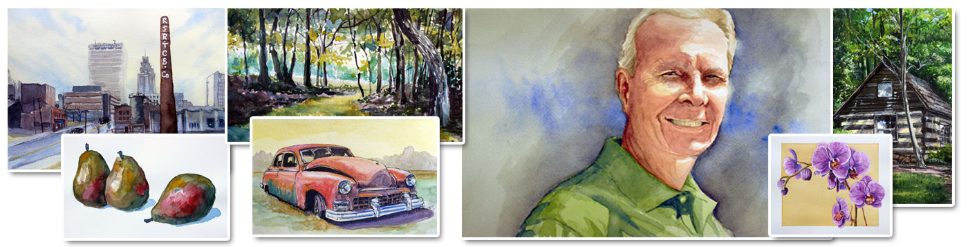 Watercolor Painting Demos