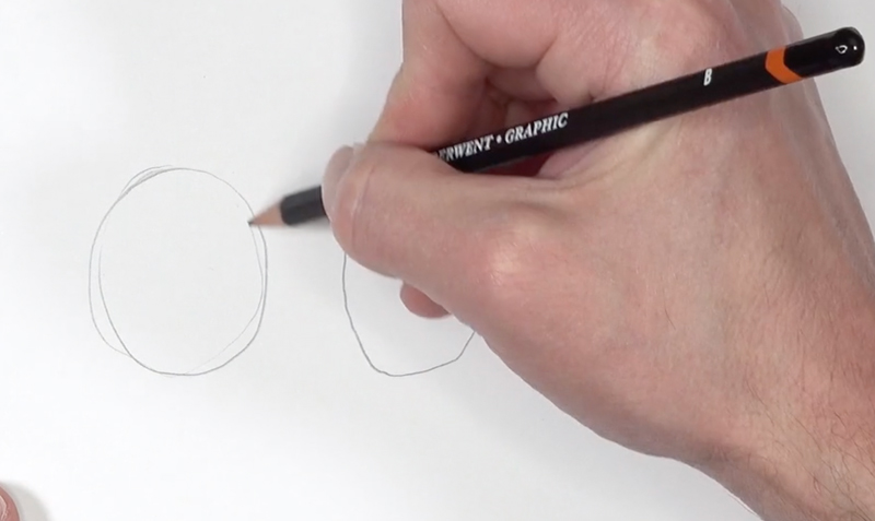 Drawing a circle with your elbow