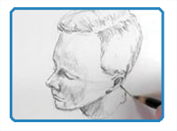 Draw Facial Proportions from Different Angles