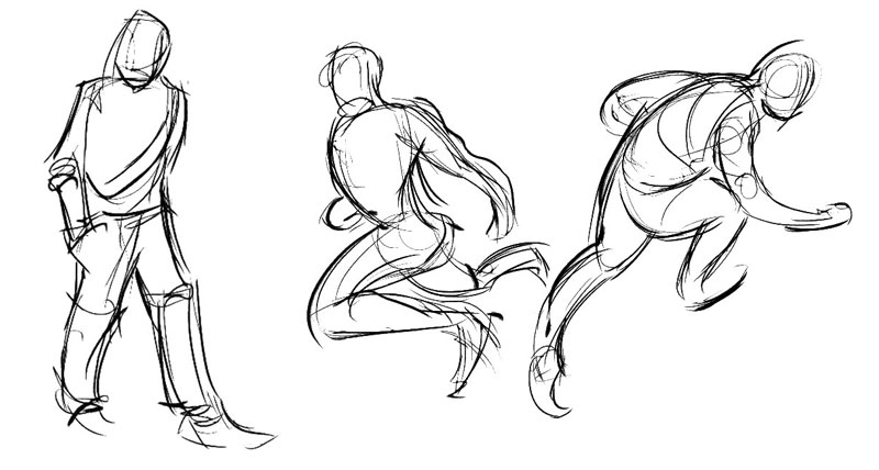 Gesture Drawing Figure Drawing