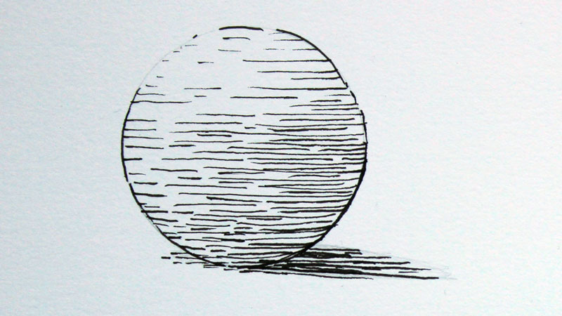Line Quality Drawing Techniques : Basic pen and ink techniques
