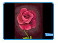 Paint a rose on the ipad