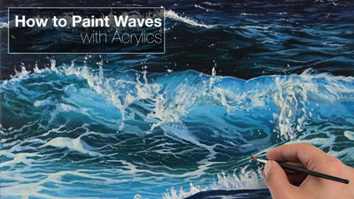 How to Paint Waves