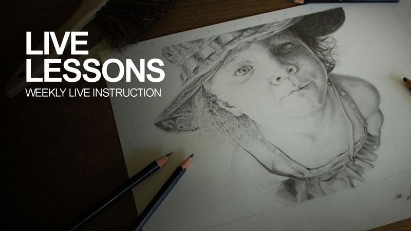 Live Art Lessons
