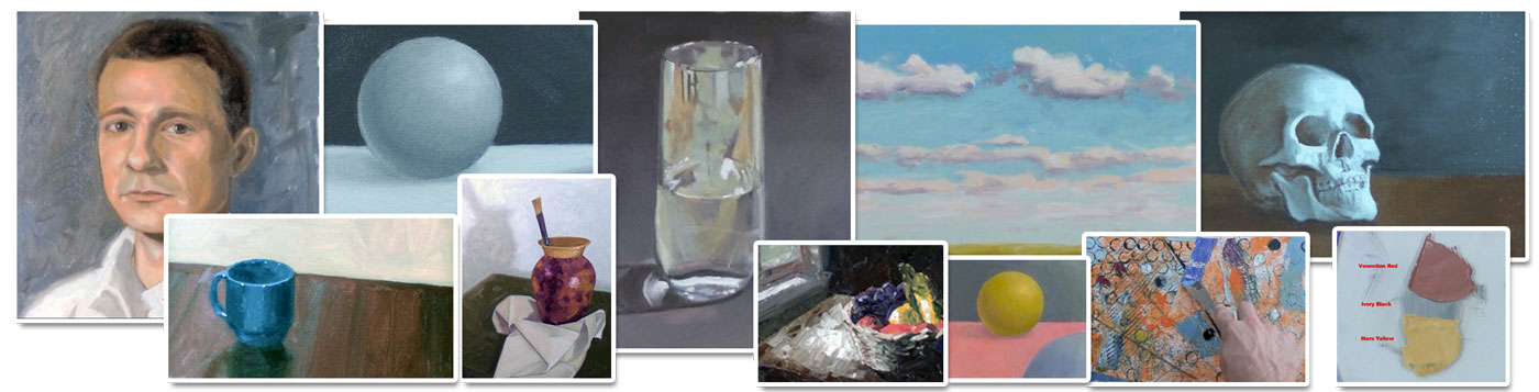 Oil Painting Course Images