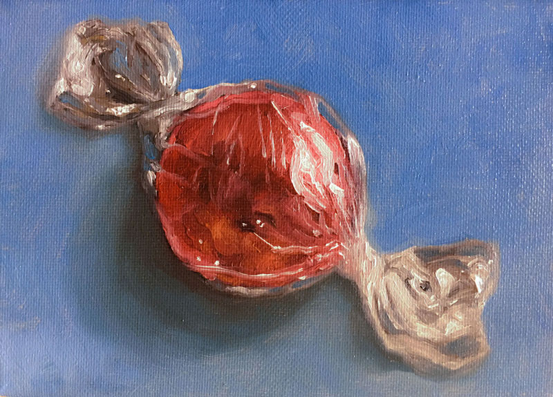Oil Painting of Candy