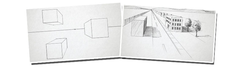 One point perspective examples