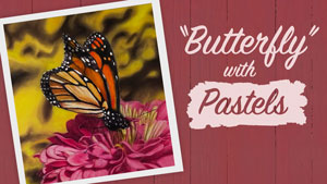 How to Draw a Butterfly with Pastels