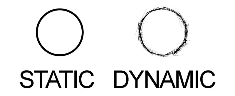 Static vs. dynamic lines