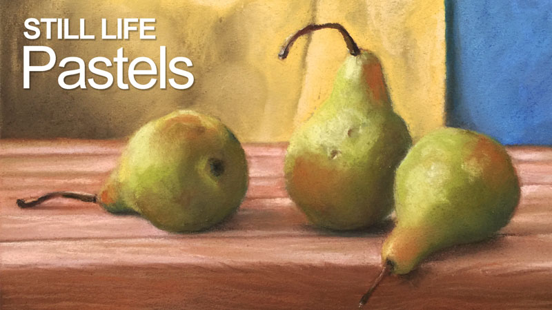 Pastel Painting Lesson - Simple Still Life